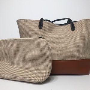 STREET LEVEL Tote + Interior Organizational Bag